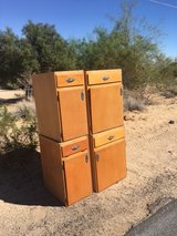 Curb alert 4 Wood kitchen style cabinets FREE in 29 Palms, California