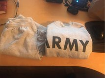 Army Sweat Shirt and Pants in Ramstein, Germany