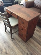 Antique Desk & Chair in Alamogordo, New Mexico