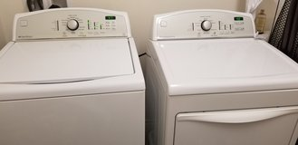 Kenmore washer and dryer in Riverside, California