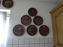 Wood Carved Plates - (Located in Schallodenbach) in Ramstein, Germany
