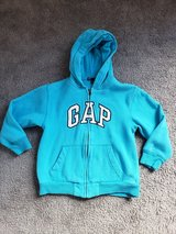 Gap Kids Turquoise Hoodie Jacket sz 6 / 7 in Clarksville, Tennessee
