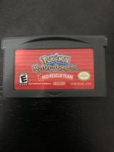 Pokémon Mystery Dungeon Red Rescue Team for Gameboy Advanced Sp in Camp Lejeune, North Carolina