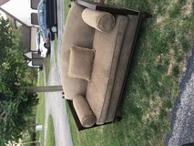 Tommy Bahama couch!! in Plainfield, Illinois