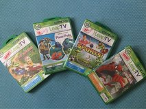 Leap Frog Leap TV Games-Hero lot in Travis AFB, California