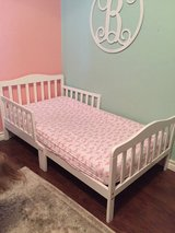 Dream On Me Classic Toddler Bed in White in Kingwood, Texas