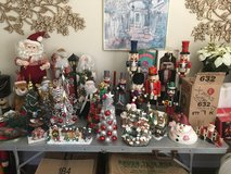 Multiple Christmas Decorations, statues nutcrackers  and Misc in Fairfield, California