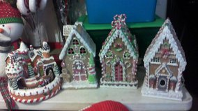 Gingerbread decorations in Fort Leonard Wood, Missouri