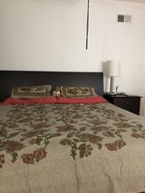 crate and barrel platform bed-king in Westmont, Illinois