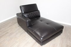 LAF Chaise in Black EXCELLENT CONDITION! in Houston, Texas