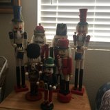 collection of  Seven  Christmas  Nutcrackers    from 1 ft to 2 ft tall in Travis AFB, California