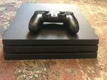 PS4 Pro 1TB w/ Controller and Cables in Fort Irwin, California