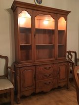 lighted hutch/china cabinet in Bartlett, Illinois