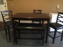 BEAUTIFUL Dinette Set w/ 3 chairs & bench in Perry, Georgia