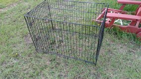 Large Wire Kennel in Leesville, Louisiana