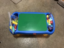 Vintage LEGO table with Legos in New Lenox, Illinois