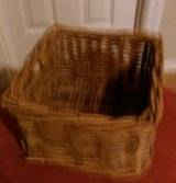 Wicker Basket-E Small & Square in Kingwood, Texas