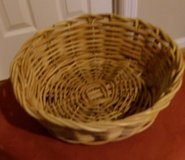 Wicker Basket-G Round in Kingwood, Texas