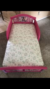 Minnie mouse Toddler bed in Sugar Grove, Illinois