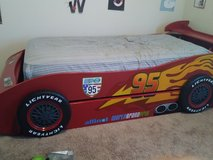 Lighting McQueen twin size bed in Hinesville, Georgia