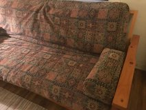 "6"" long Mission style Futon. in Fort Irwin, California"
