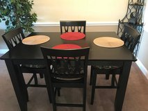 Table 6 Chairs, Removable Lazy Susan, Extention in Byron, Georgia