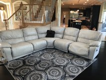5 piece sectional leather couch in Plainfield, Illinois
