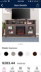 fireplace tv stand in Clarksville, Tennessee