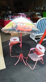Cars table and chair set in New Lenox, Illinois
