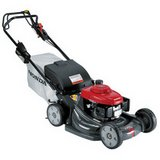 HONDA HRX217 LAWN MOWER FEW YEARS OLD NEW STYLE HANDLE COMES WITH BAG AND SERVICE MANUAL in Naperville, Illinois