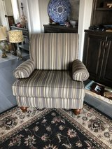 Set of upholstered arm chairs in Pensacola, Florida