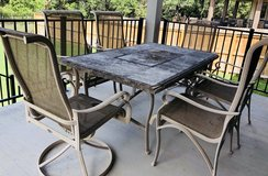 Patio/Outdoor Dining Table & 6 Chairs in Fort Belvoir, Virginia