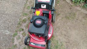 Toro Gas Lawn mower with bag 5 HP in Ramstein, Germany