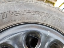 Wheel and tires in Beaufort, South Carolina