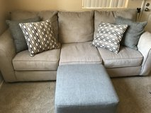 Sofa with foot rest in Vacaville, California