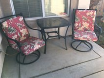 patio two chairs and table in Travis AFB, California