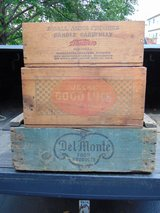 Old Wood Crates in Naperville, Illinois