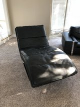 Italian brand Leather long chair in Bolingbrook, Illinois