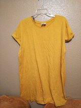 Mustard color dress size M in Vacaville, California