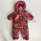 NWT 60 (US Size 3-6M) Hanna Andersson Fleece Snowsuit in Sugar Grove, Illinois