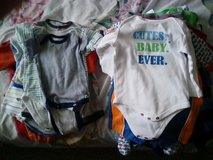 Nb/0-3 month baby boy clothes -0ver 40 pieces! in Tampa, Florida