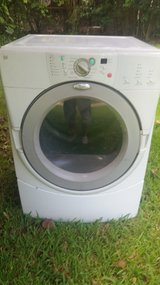 Whirlpool electric dryer White in Pasadena, Texas