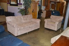 Love Seat and Matching Chair in Tacoma, Washington