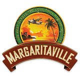 Margaritaville® Plane and Palm Wall Art Sign in Red in Plainfield, Illinois