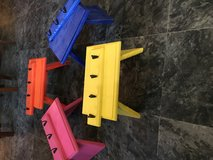 Hand made step stools various colors and key /coat holders in Vacaville, California