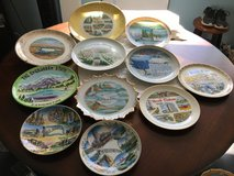 Various collector plates in Vacaville, California