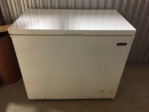 Chest freezer by magic chef in Baytown, Texas