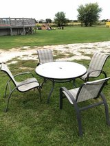 Patio table/chair set in Oswego, Illinois