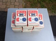 NEW BICYCLE POKER CHIPS  ( 100 PCS.) in Bartlett, Illinois