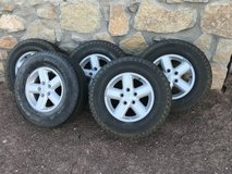 Jeep Wrangler Tires (Complete) in El Paso, Texas